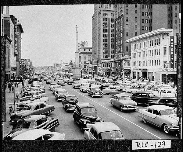Downtown Augusta Ga: Downtown Augusta, GA Late 1940's Or Early 1950's