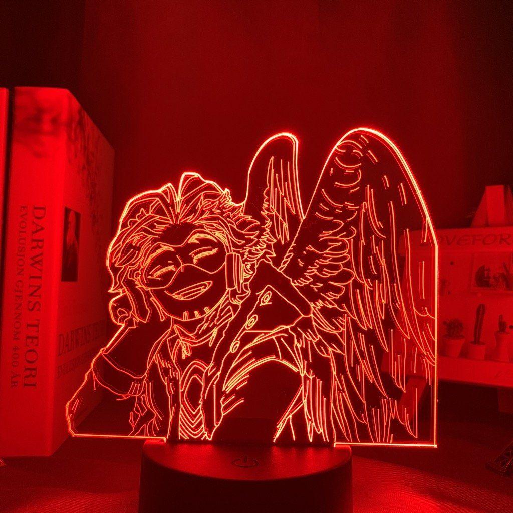 Hawks Keigo Takami Led Anime Lamp My Hero Academia Otaku Lamps In 2020 My Hero Anime My Hero Academia