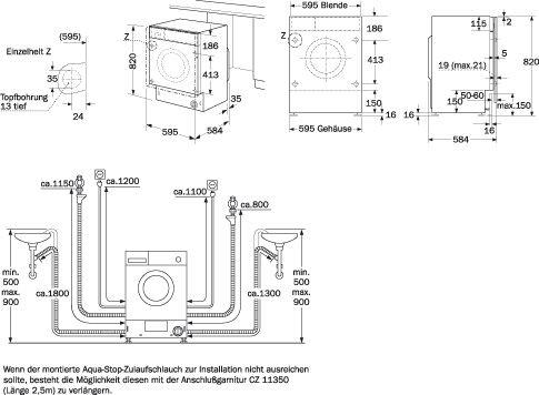 Medidas de secadoras de ropa peque as vestido de novia for Medidas de lavadoras