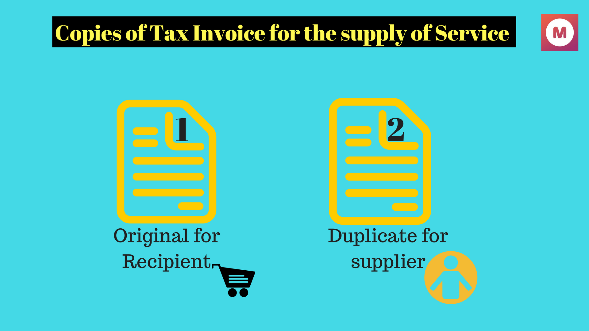 gst invoice for supply of services