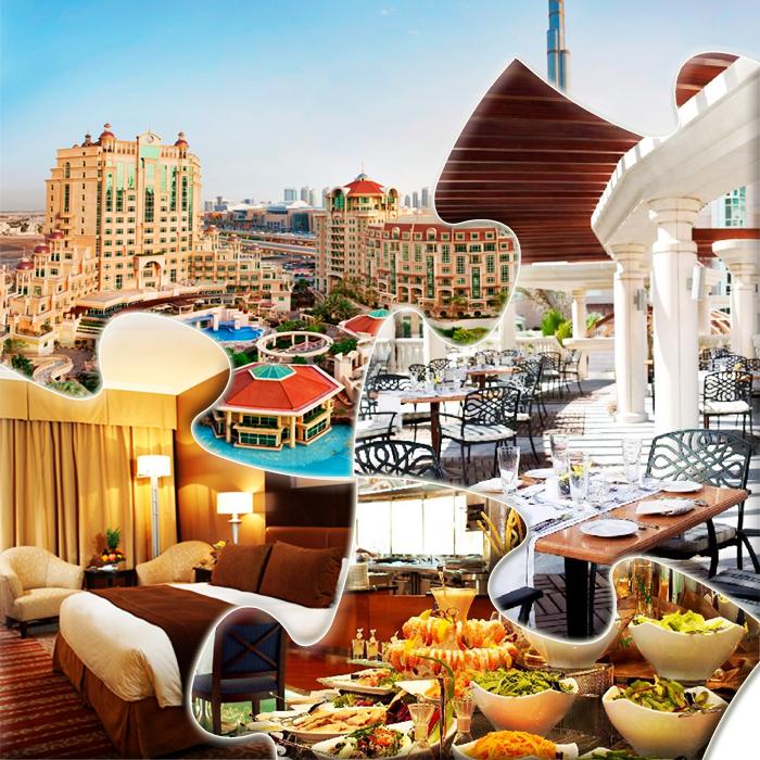 Predstavljamo Vam moderan gradski hotel impozantne arhitekture. Al Murooj Rotana, Dubai.