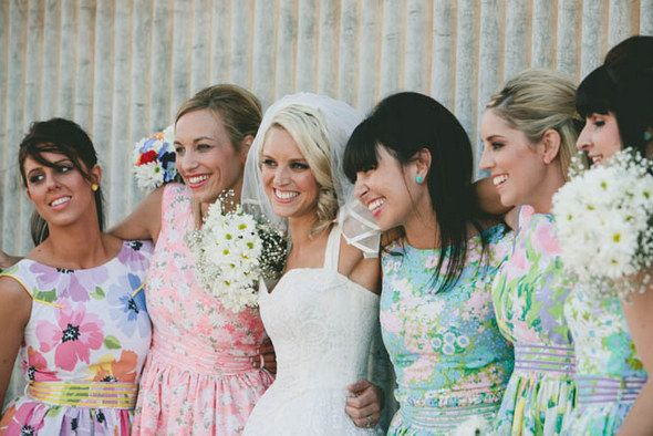 Bridesmaids Gorgeous Dresses Floral Bridesmaid Dresses Bridesmaid Dresses Floral Print Patterned Bridesmaid Dresses