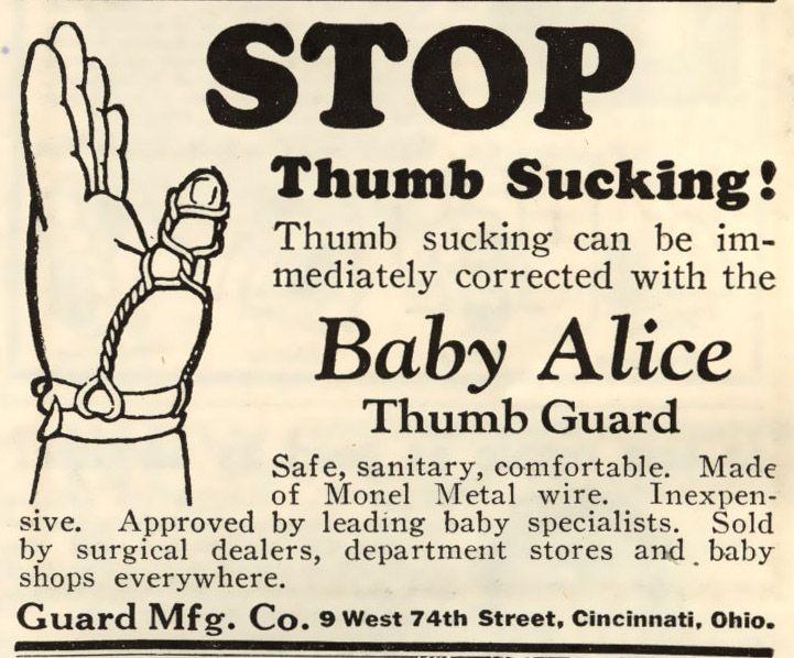Stop Thumb Sucking Adjustable Baby Toddler Kids Finger Thumbsucking Guard Kit