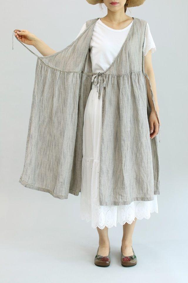 ST린넨 나시랩원피스 | 옷 | Pinterest | Costura, Vestidos de baile ...