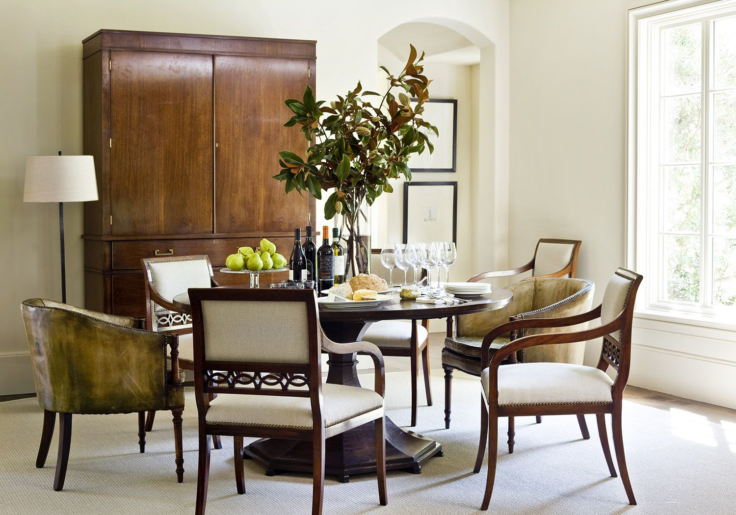 Robert Brown Interior Design Luxury Dining Room Interior Design