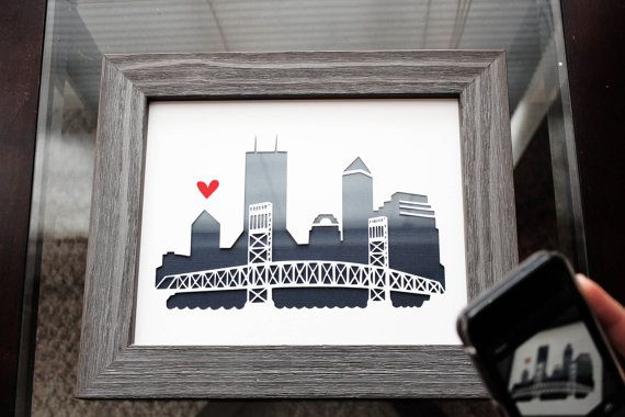 Jacksonville Florida Personalized Gift Or Wedding Gift