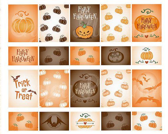Printable Halloween planner stickers Halloween stickers set Halloween Planner…