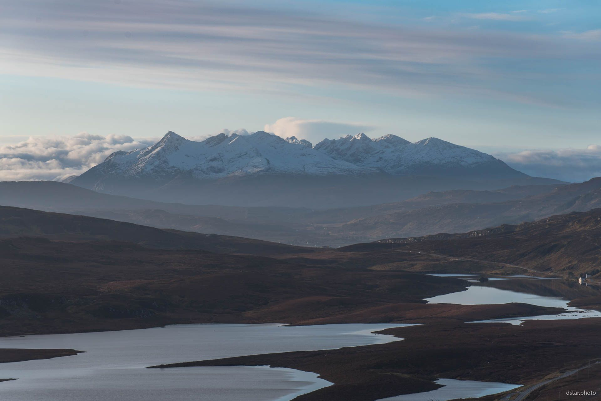 The Cuillin view