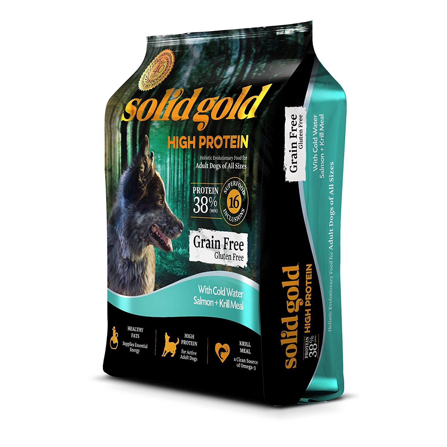 Solid Gold Holistic High Protein Dog Food With Superfoods You Can
