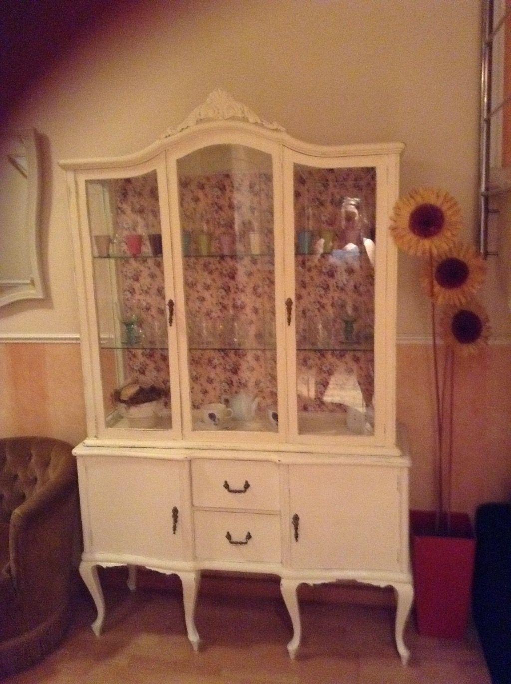Acabada de restaurar con pintura a la tiza estilo shabby 124661324 muebles - Wallapop muebles antiguos ...