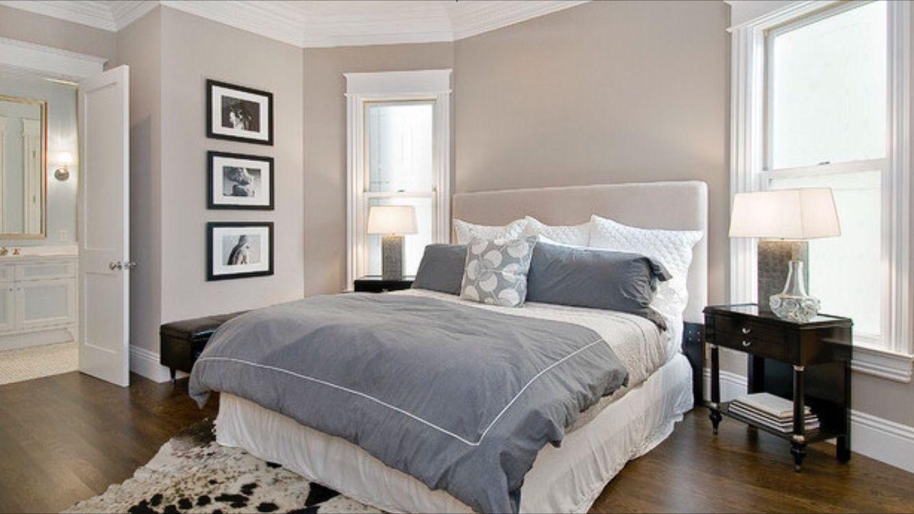 Master bedroom gray walls  Pin by Lana Malyukina on Спальня  Pinterest