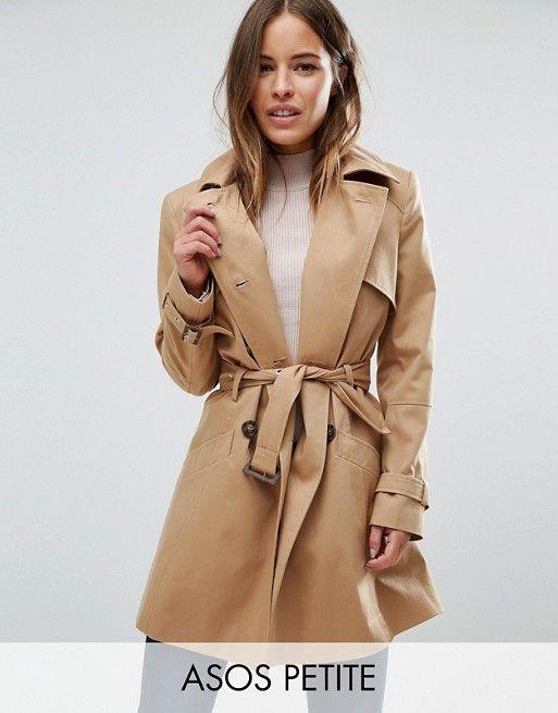 Manteau classique femme petite
