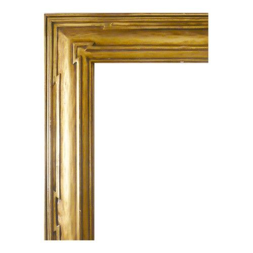 4″ Double Arrow Carve GLF753D | Goldleaf Framemakers of Santa Fe
