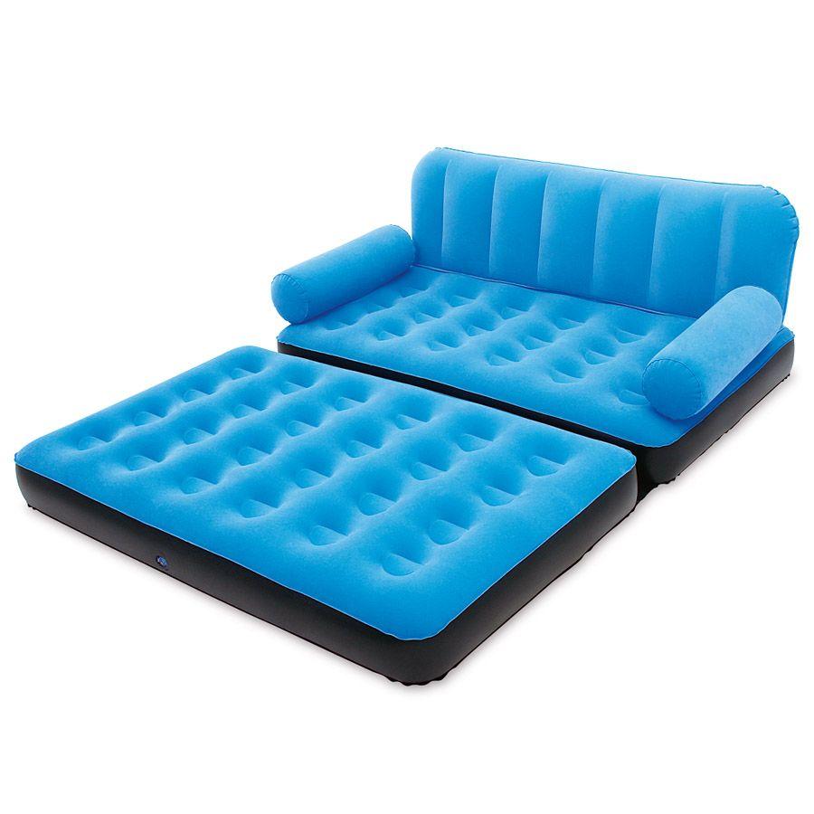 Inflatable Air Mattress In 2020 Sofa Air Mattress Comfy Sofa
