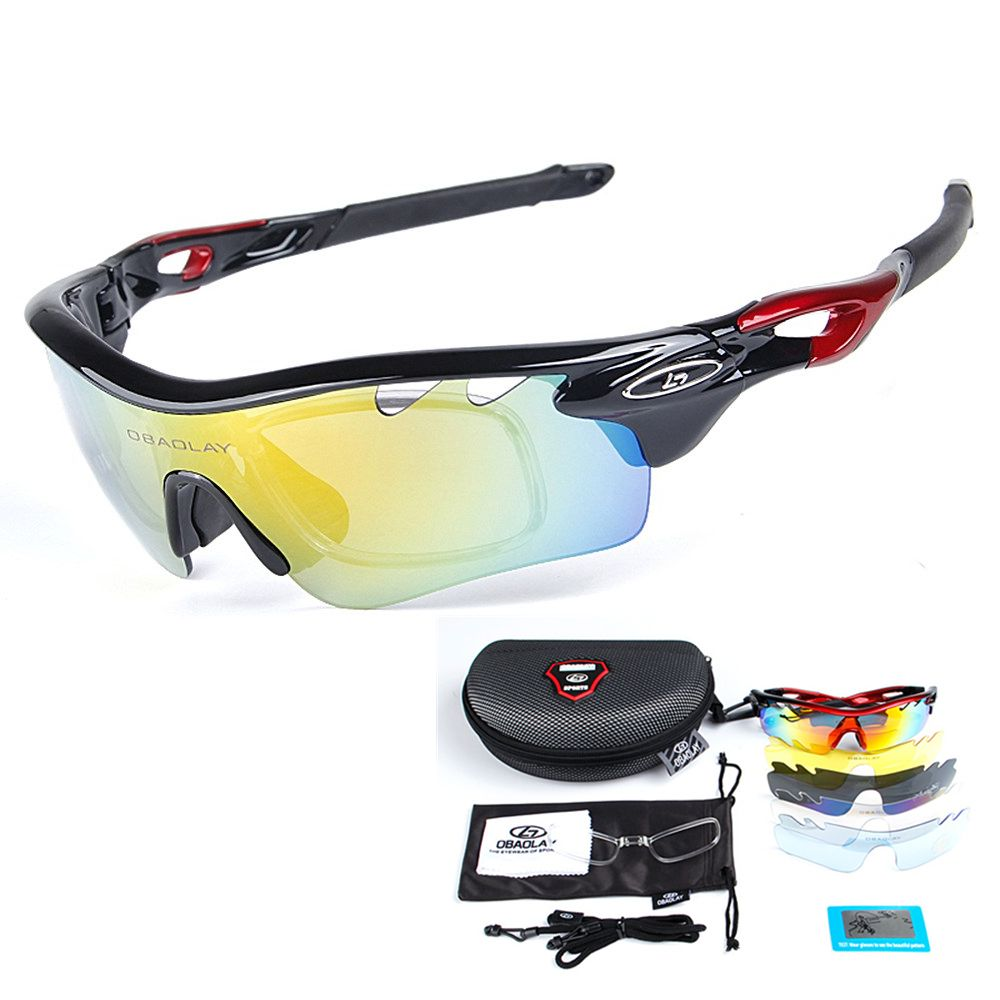 Cycling Sports UV400 Sunglasses Riding Goggles Unisex Glasses Eyes Protection