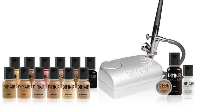 Studio Beauty Kit Airbrush Makeup Kit by Dinair Maquillaje