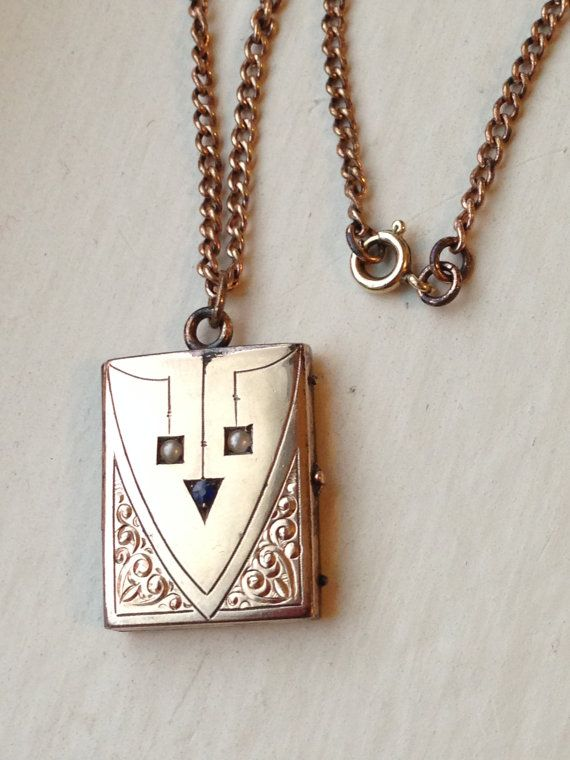 Book Photo Locket Round Oval Rectangular Necklace Pendant Silver Steel Heart