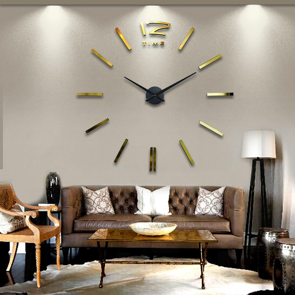 Superb Cheap Gift Grandmother, Buy Quality Gift Band Directly From China Gift Pc  Suppliers: Home Decoration Big Mirror Wall Clock Modern Design DIY Large ... Great Ideas