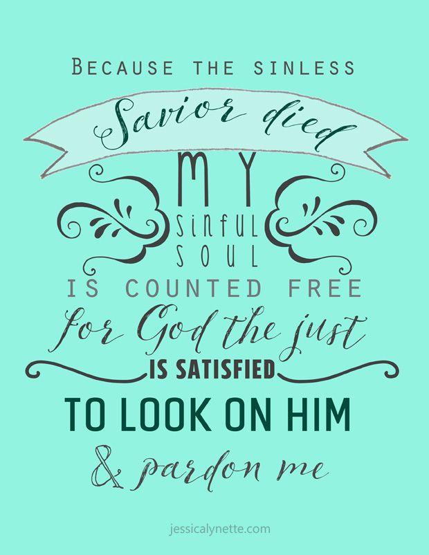 Lyric my god and i lyrics : Before the Throne of God Above - hymn lyrics | Because the sinless ...