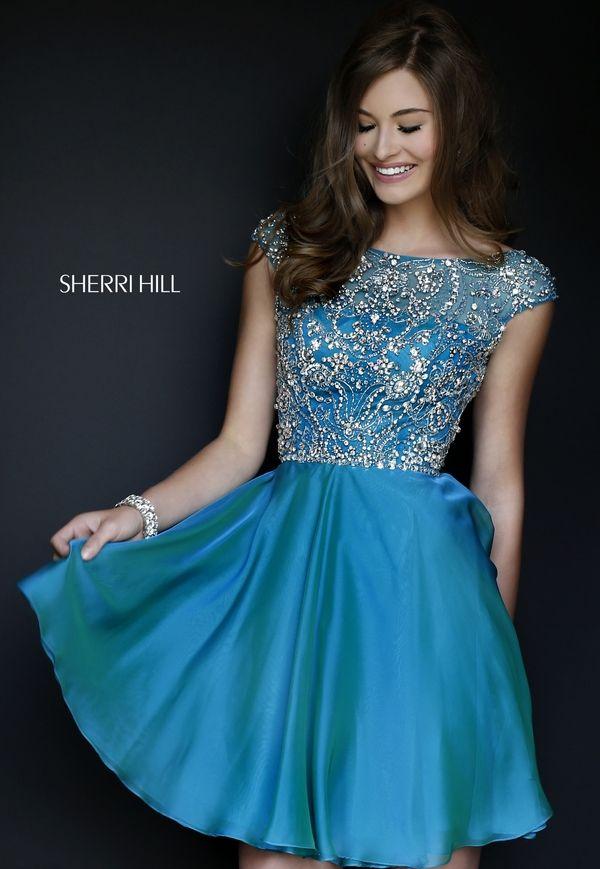 Sherri Hill Short Homecoming Dresses 2015
