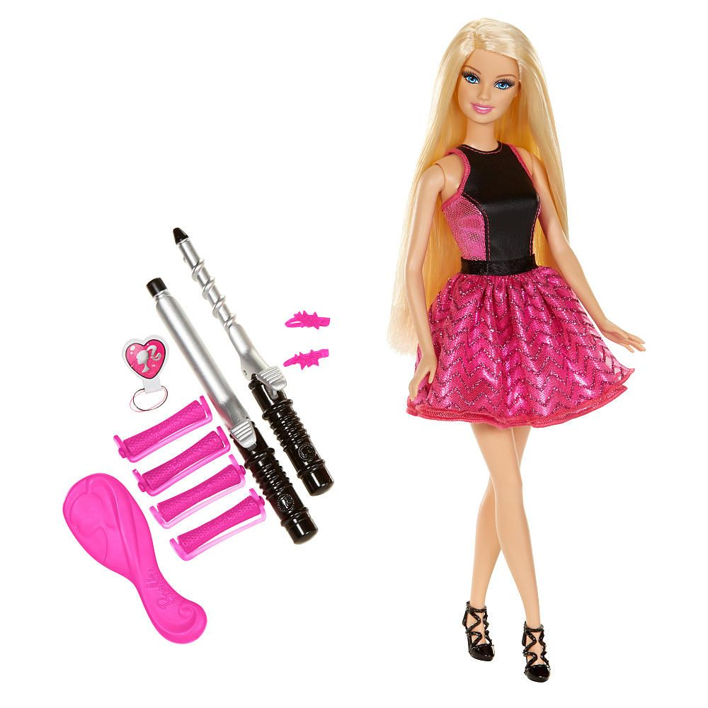 Christmas dress babies r us - Barbie Endless Curls Doll