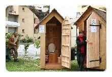 Location de toilettes sèches - Les Tinettes du Ventoux - Chlorophylle