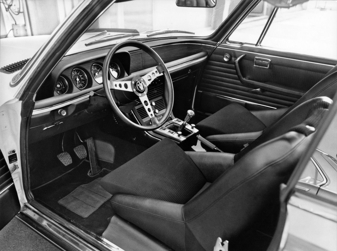 BMW press picture, summer 1973