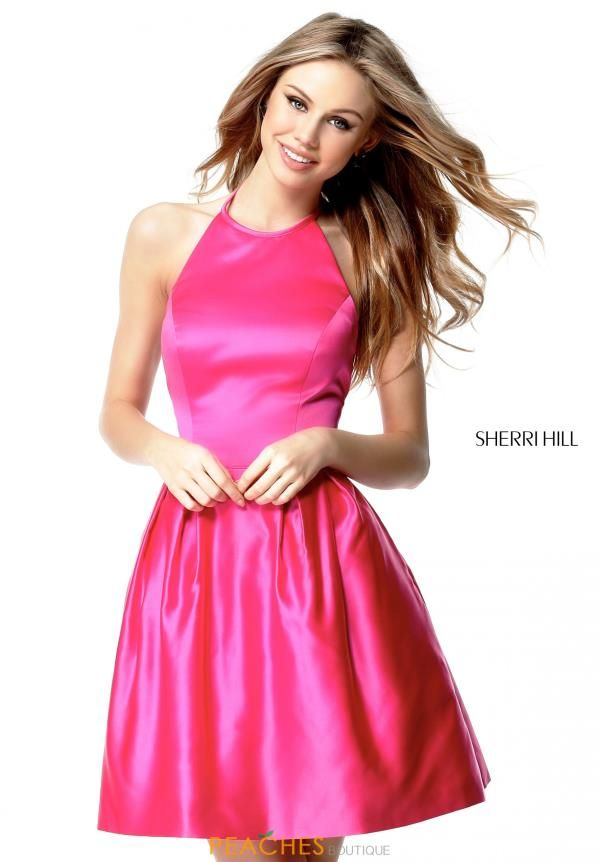 Sherri Hill Corto Vestido alto-51273 | Moda Juvenil | Pinterest ...