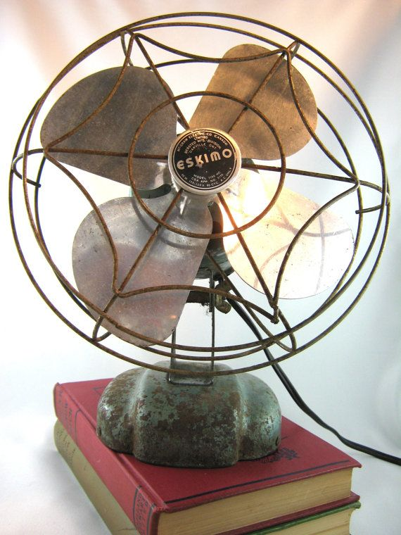 Vintage Electric Eskimo Fan By Thankyoulucky On Etsy