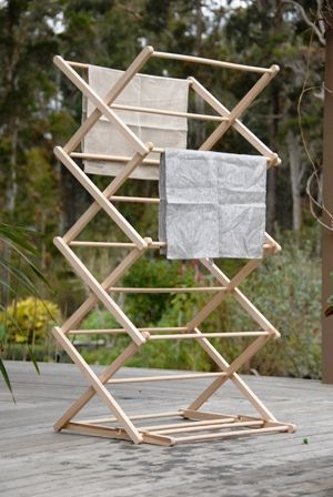 Folding Clothes Horse Zig Zag Or This Clothes Horse Folding Clothes Wooden Clothes Drying Rack