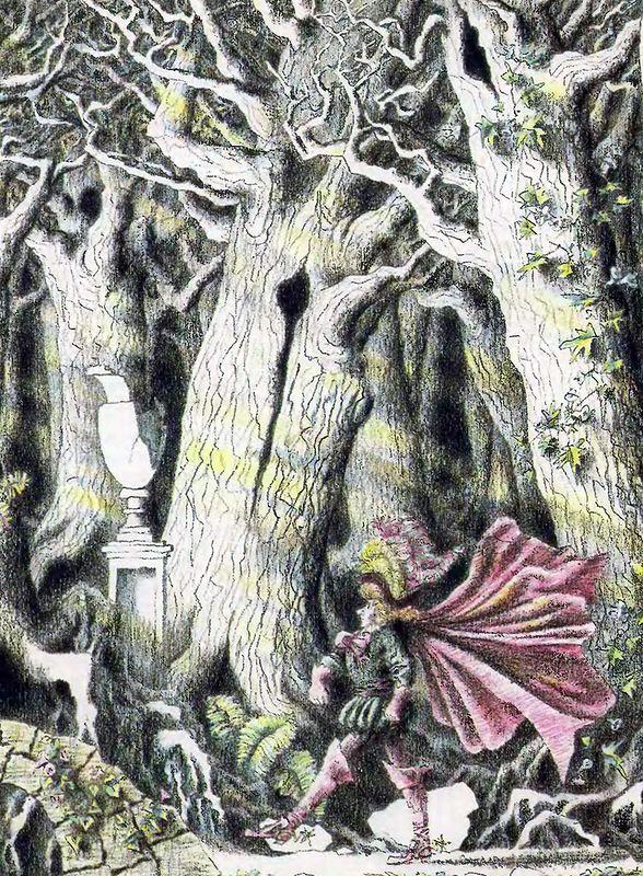 попутно волшебные сказки графические иллюстрации фото молодых художников