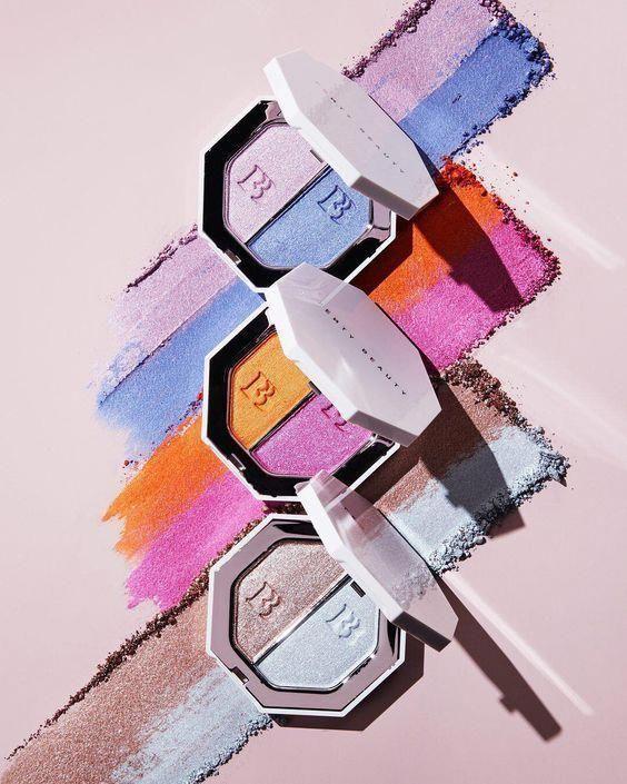 Fenty Beauty  KILLAWATT FOIL FREESTYLE HIGHLIGHTER makeup Tutorial