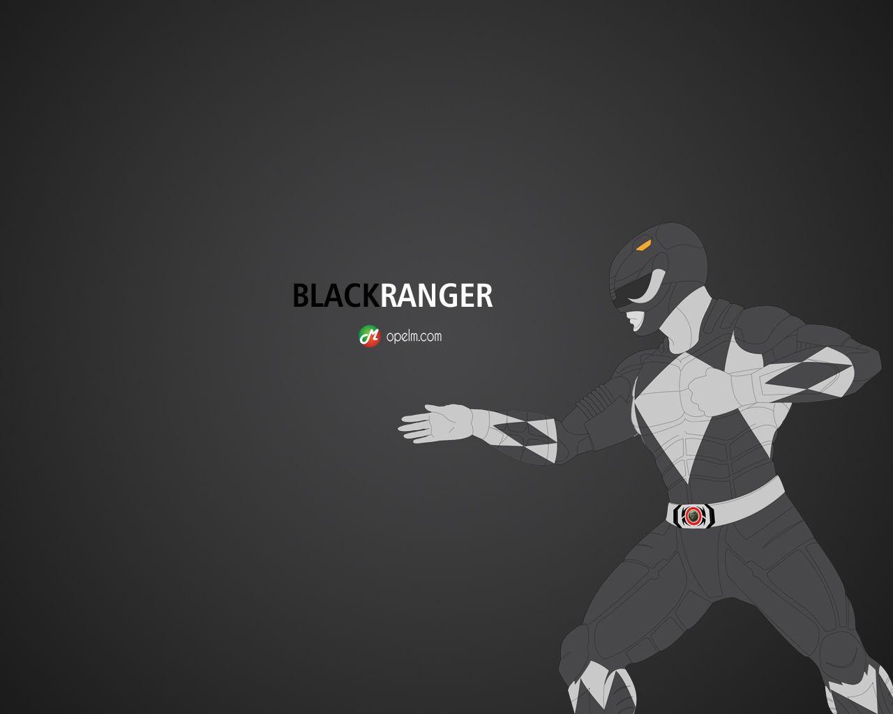 Black Ranger Ranger Power Ranger Black Power Rangers Art