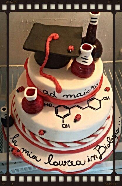 Torta di laurea in farmacia  torta laurea nel 2019