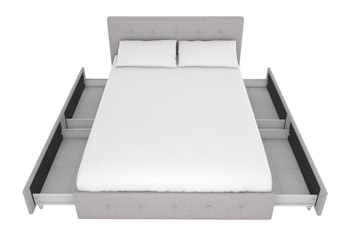 Winston Porter Houchins Upholstered Storage Platform Bed Reviews
