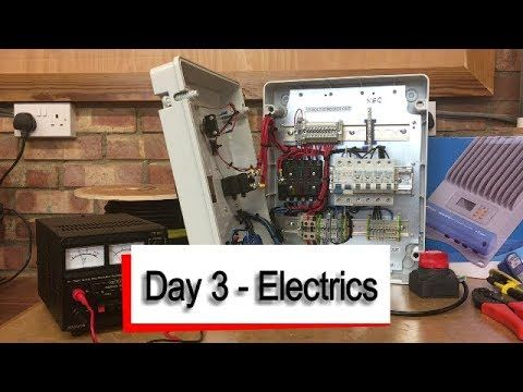 07292680b290 992) Mercedes Sprinter Camper Van - Electrics - YouTube