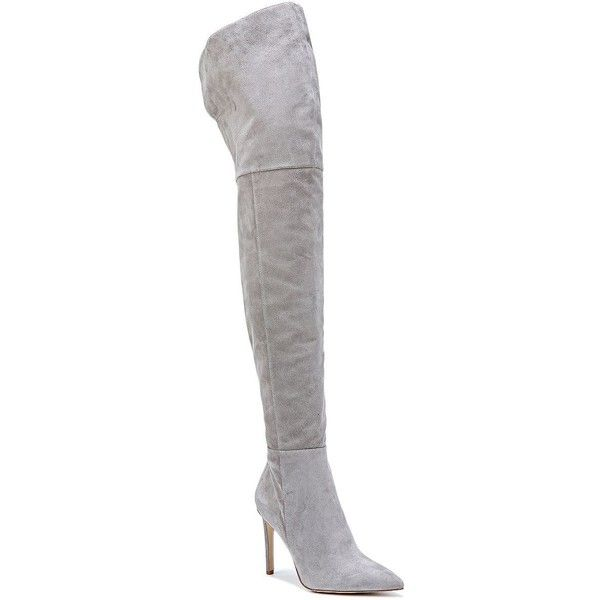 1d75edf19 Sam Edelman Bernadette Over-the-Knee Suede Boots ( 169) ❤ liked on ...