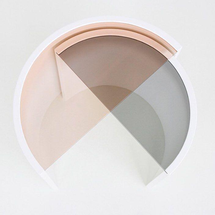 Schön Contour Side Table By Bower NYC Via Mydesignlove  Love, Pastel, Design