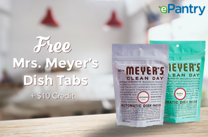 Epantry Free 20 Pack Of Mrs Meyer S Dish Tabs Free 10 Credit More In 2020 10 Things Cleaning Day Save Yourself