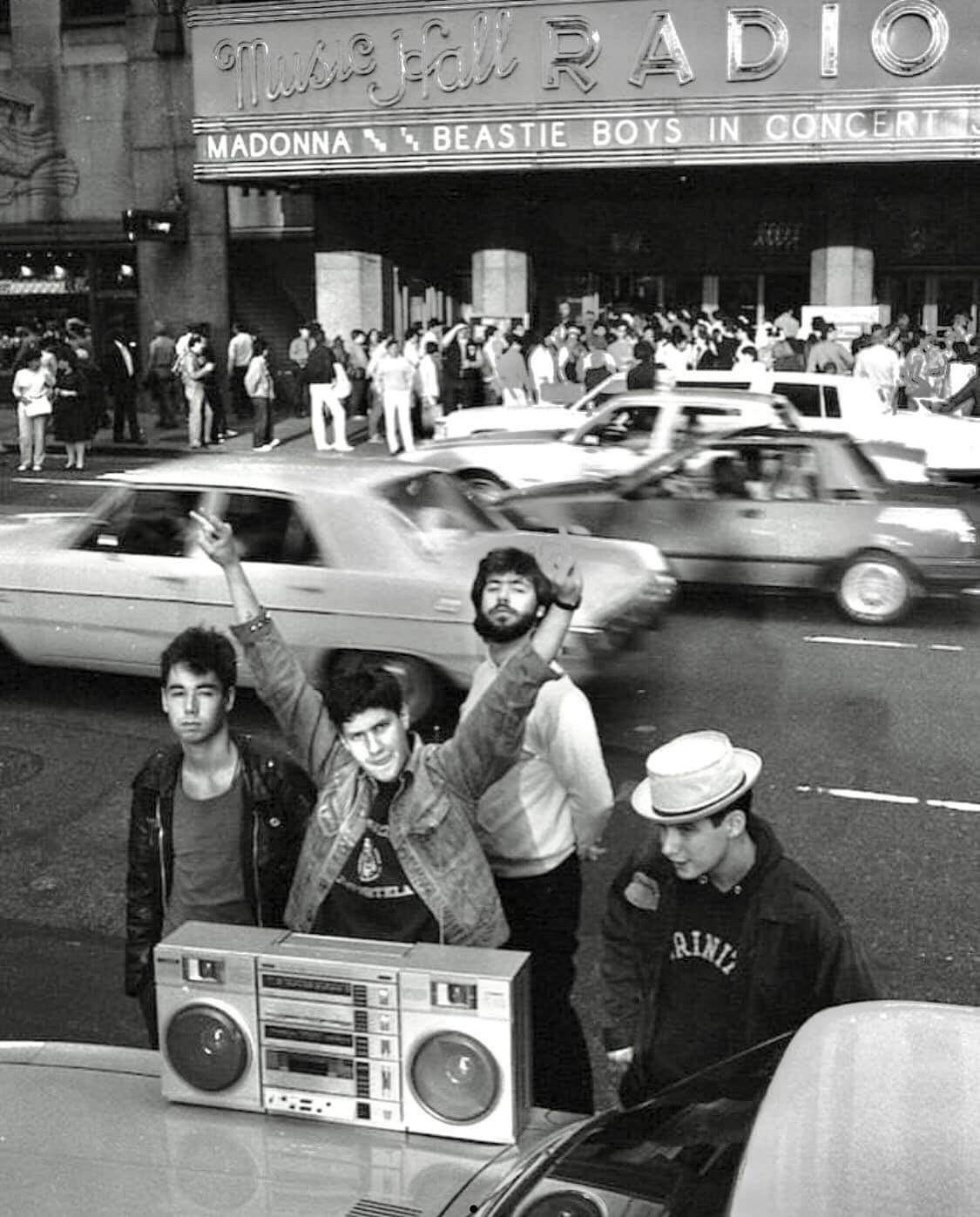 Beastie Boys + Madonna | Beastie boys, Old school radio, Songs