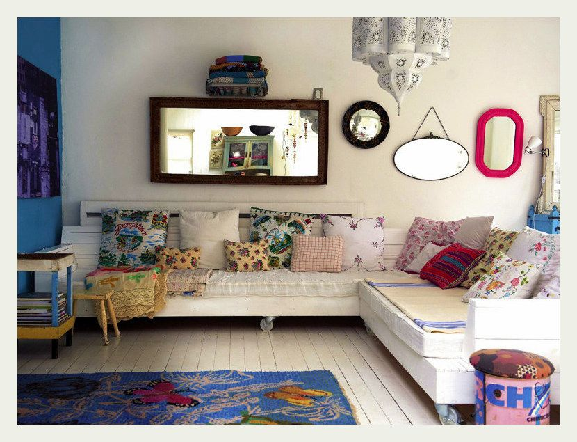 An Indian, eclectic flare home