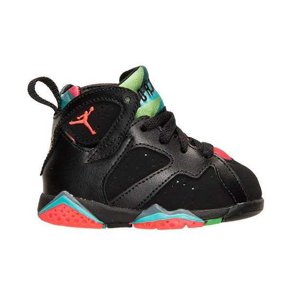 Boys' Toddler Air Jordan Retro 7 Basketball Shoes ($75) ❤ liked on Polyvore featuring baby