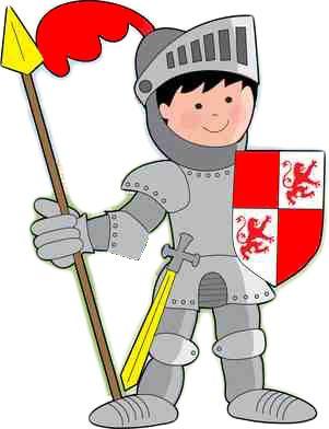Kleiner Ritter Murals, Kindergarten, Diys, Clip Art, Saint James, School, Knights, Knight Games, Birthday Celebrations
