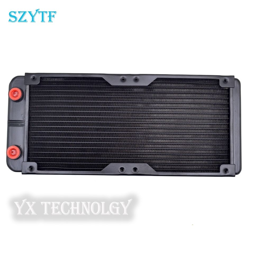 Szytf Cpu 240 Aluminum Pc Water Cooling Radiator 240 18 Chennels