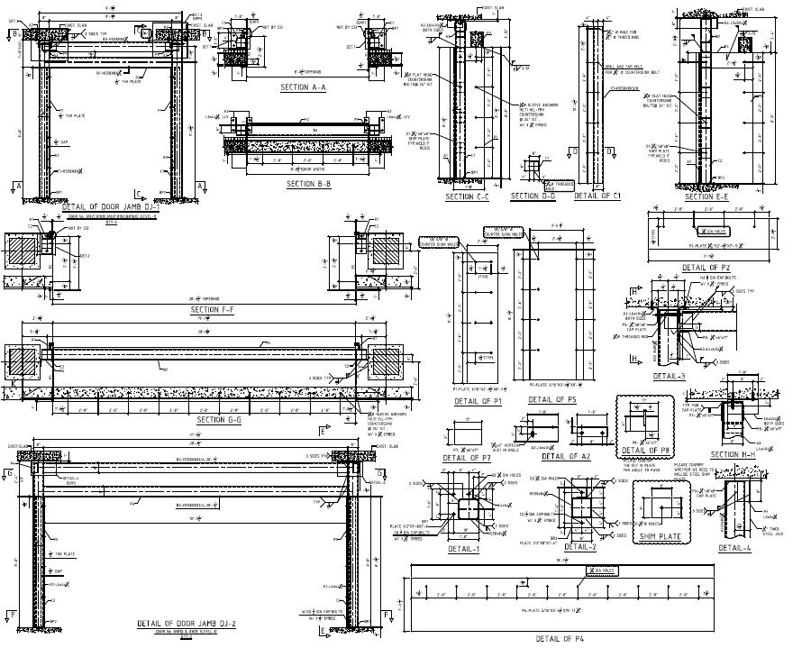 Structural fabrication/ shop drawing are ideal choice to