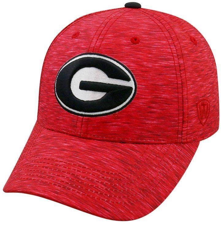 outlet store c46d1 516c8 NCAA Adult Georgia Bulldogs Warp Speed Adjustable Cap