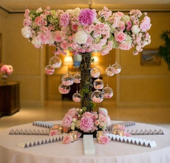 50 pcs Glass terrariums Wedding decoration Glass Wedding centerpiece Arch decor Hanging candle holders Wedding decor