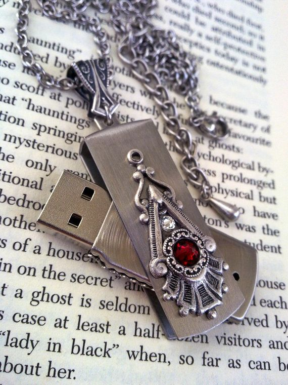Swarovski Key Pendant Necklace - Crystal Silver Night by ApplebiteJewelry  ee802cbf41a