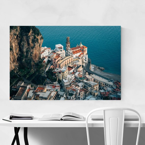 Italy Wall Art Italy Print Amalfi Coast Print Amalfi Coast Art