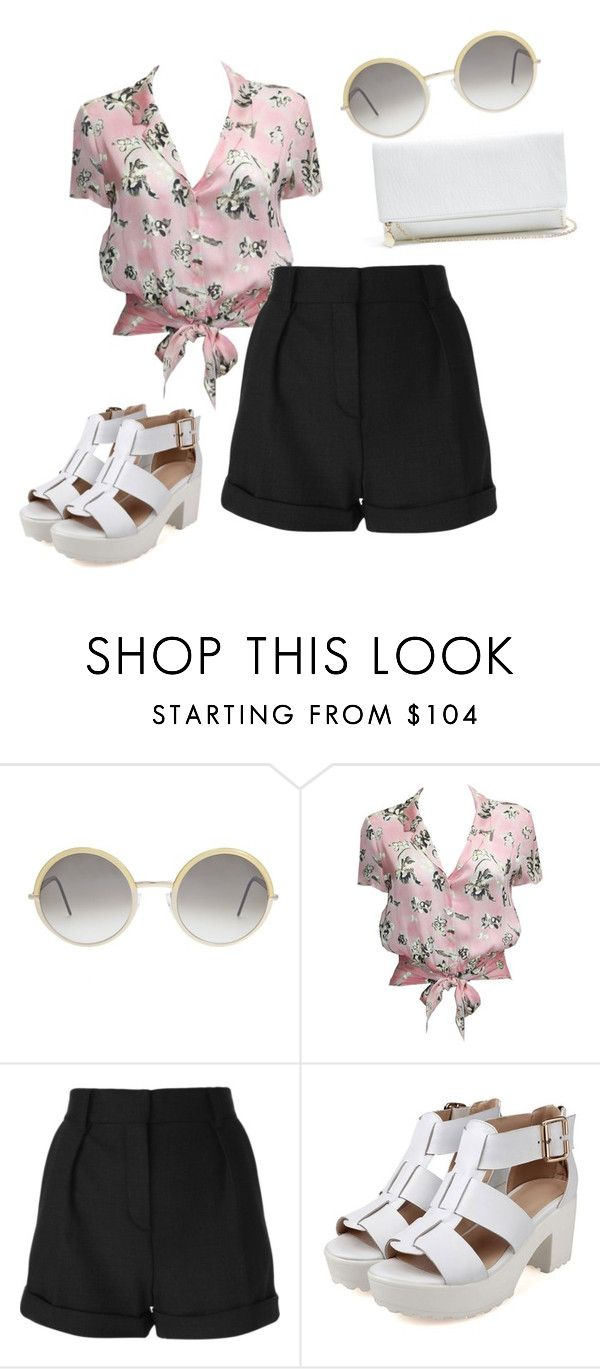 """Untitled #885"" by ncmilliebear ❤ liked on Polyvore featuring Cutler and Gross, Chanel, IRO and GUESS"